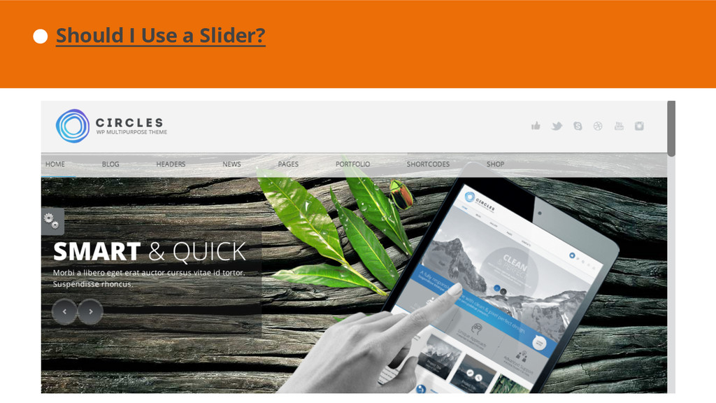 Should I Use a Slider?