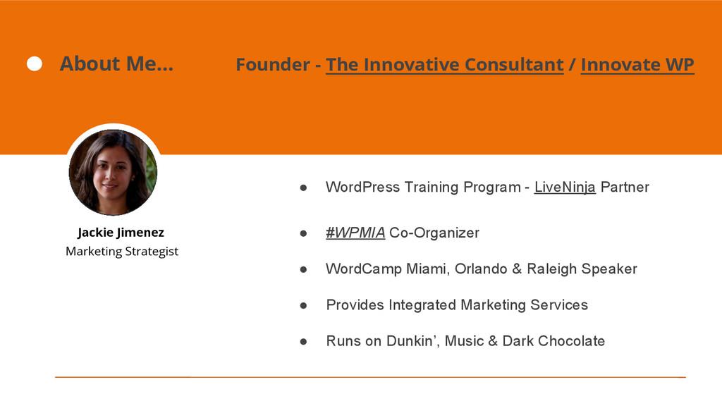 ● WordPress Training Program - LiveNinja Partne...