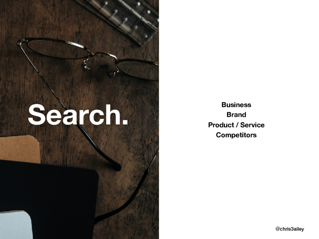 @chris3ailey Search. Business Brand Product / S...