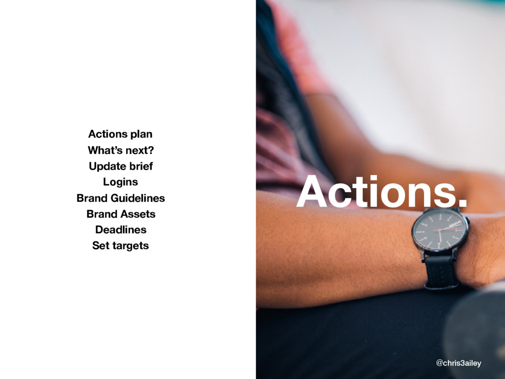 @chris3ailey Actions. Actions plan What's next?...