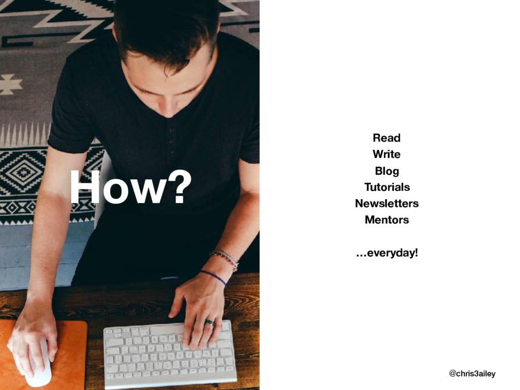 Read Write Blog Tutorials Newsletters Mentors …...