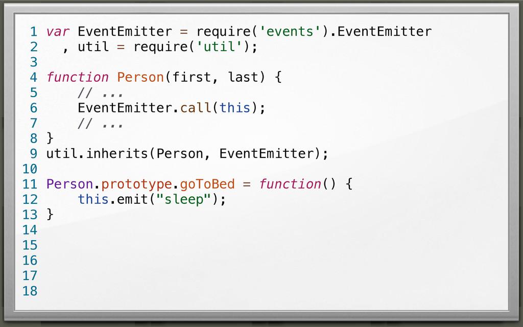 var EventEmitter = require('events').EventEmitt...