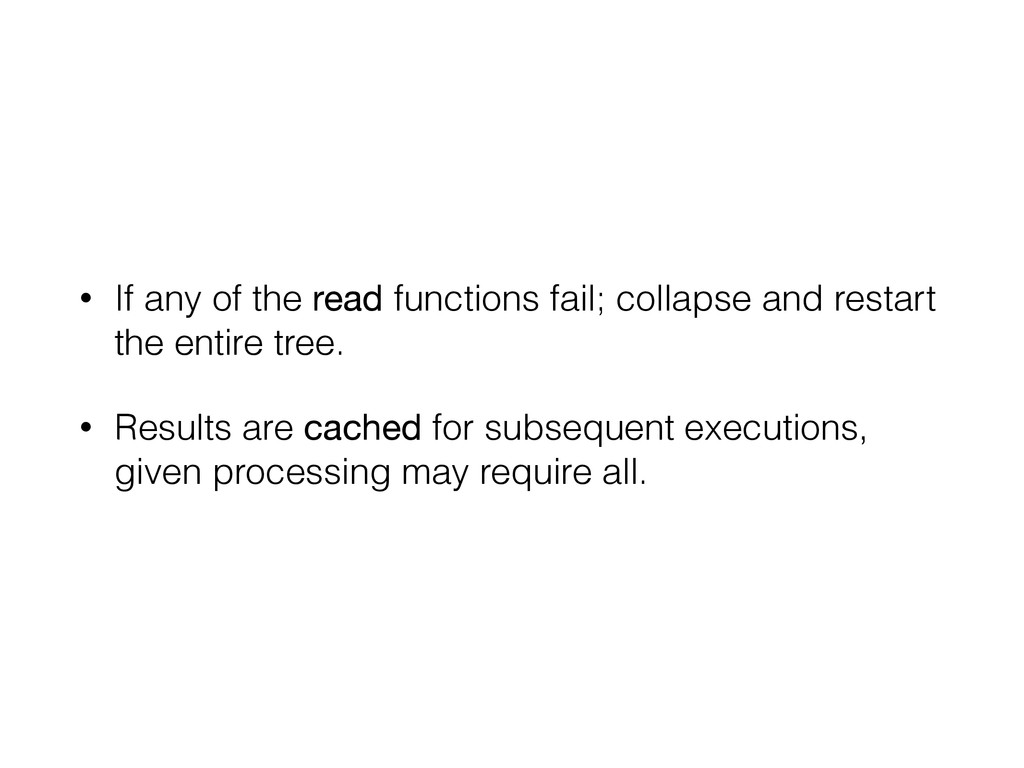 • If any of the read functions fail; collapse a...