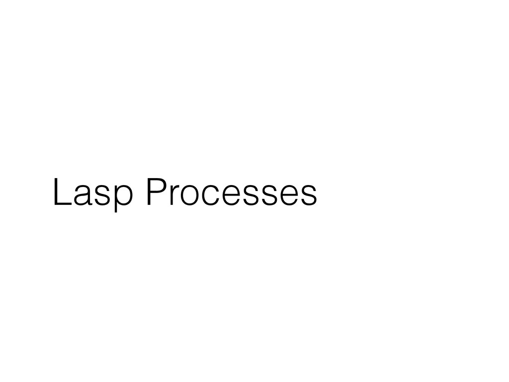 Lasp Processes