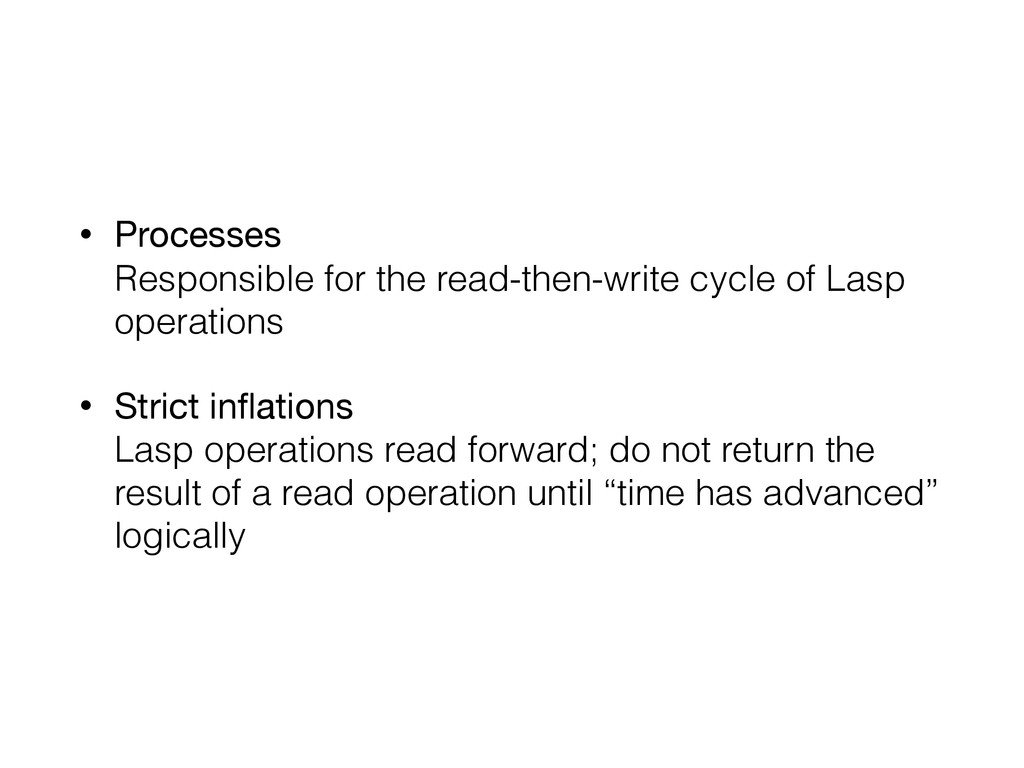 • Processes Responsible for the read-then-writ...