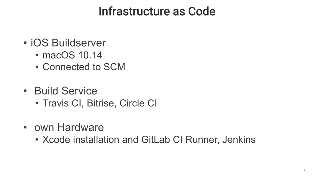 Infrastructure as Code 9 • iOS Buildserver • ma...
