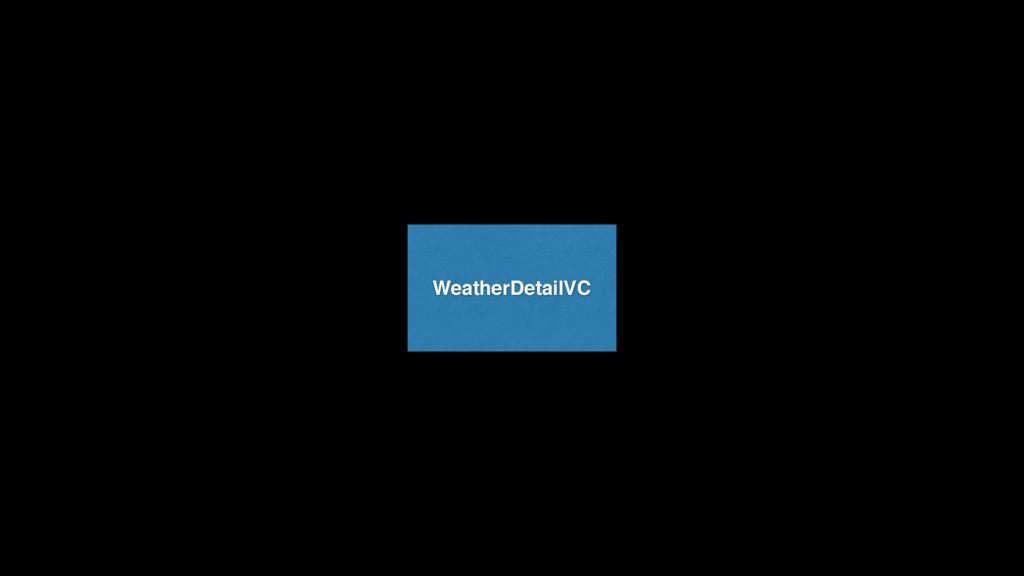 WeatherDetailVC