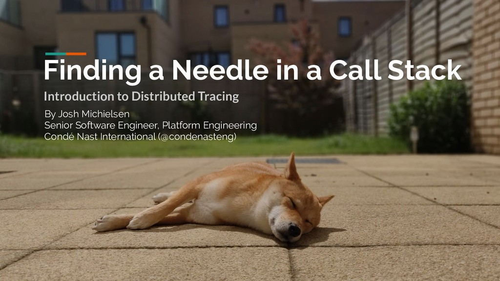 Finding a Needle in a Call Stack Introduction t...