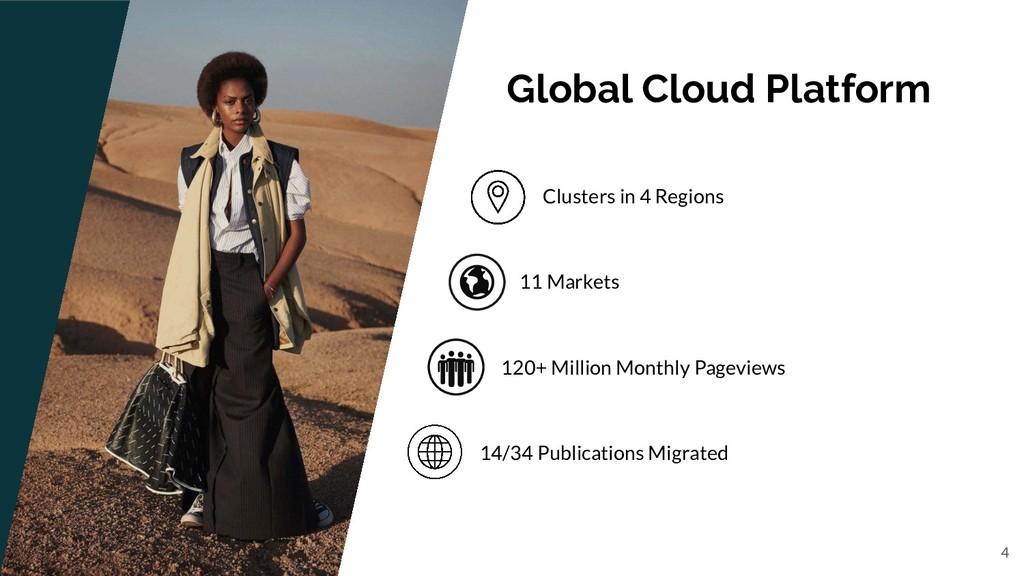 Global Cloud Platform Clusters in 4 Regions 11 ...