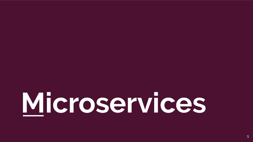 Microservices 5