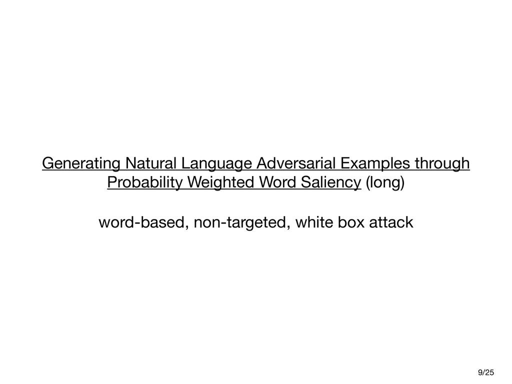 Generating Natural Language Adversarial Example...