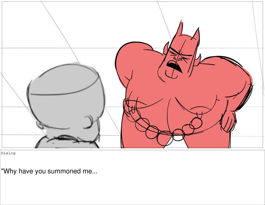 """Dialog """"Why have you summoned me..."""