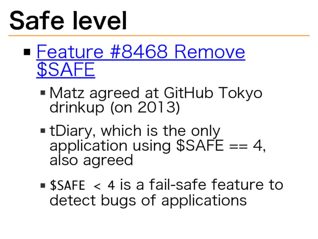 Safe�level Feature�#8468�Remove� $SAFE Matz�agr...