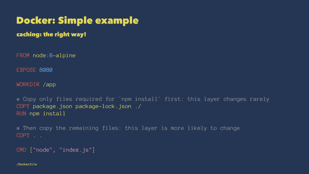 Docker: Simple example caching: the right way! ...