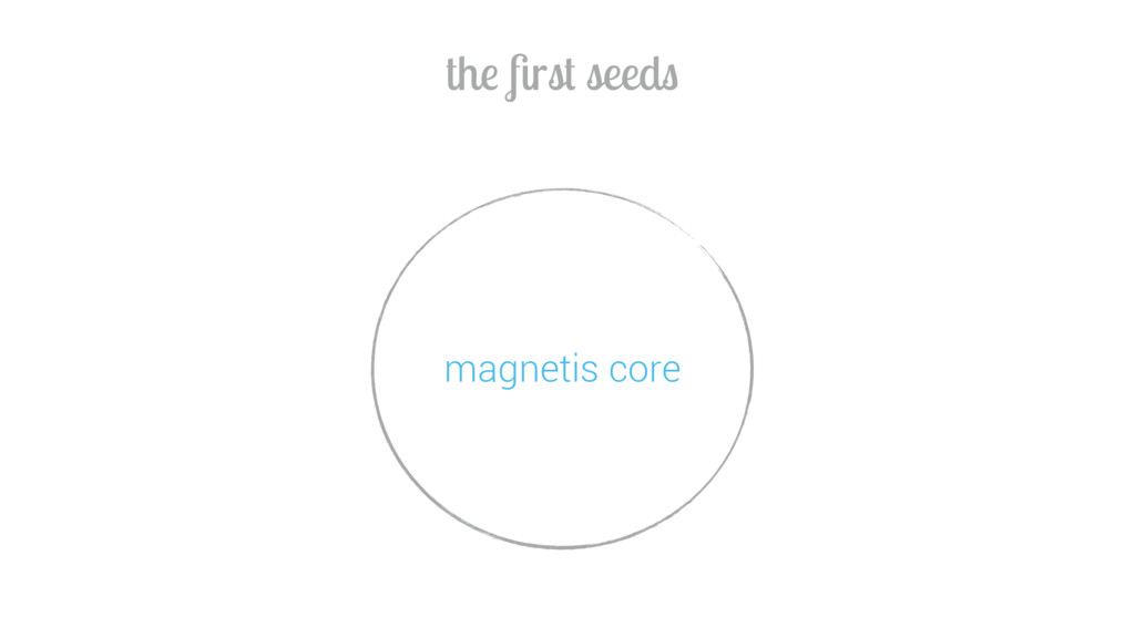 the first seeds magnetis core