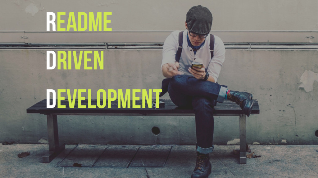 README Driven Development