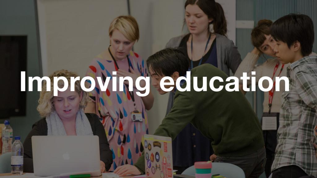 GDS Improving education