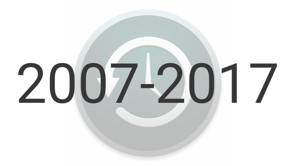 2007-2017
