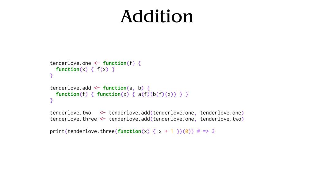 Addition tenderlove.one <- function(f) { functi...
