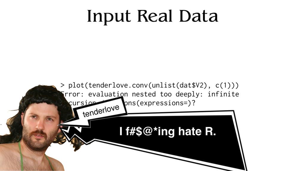 Input Real Data > plot(tenderlove.conv(unlist(d...