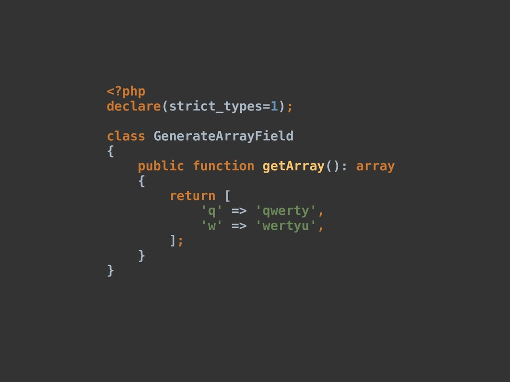 <?php declare(strict_types=1); class GenerateAr...