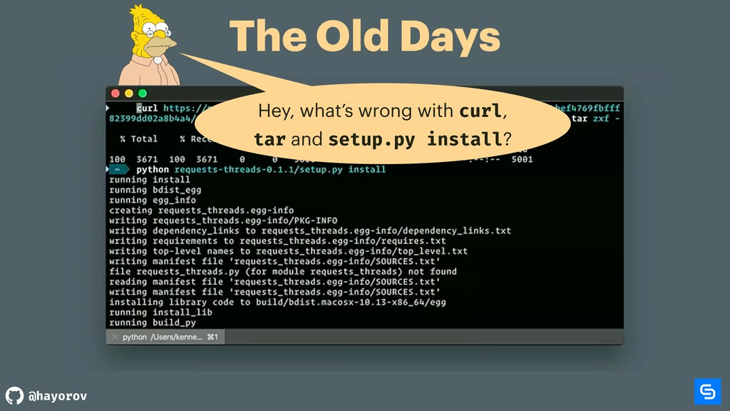 @hayorov The Old Days Hey, what's wrong with cu...
