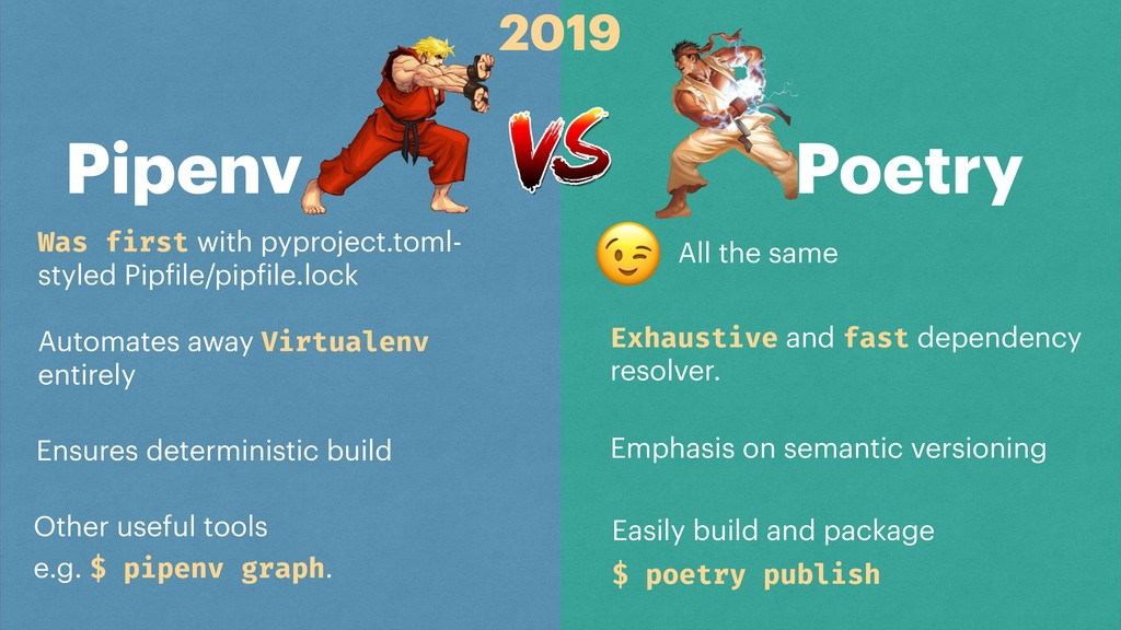 Pipenv Poetry Was first with pyproject.toml- st...