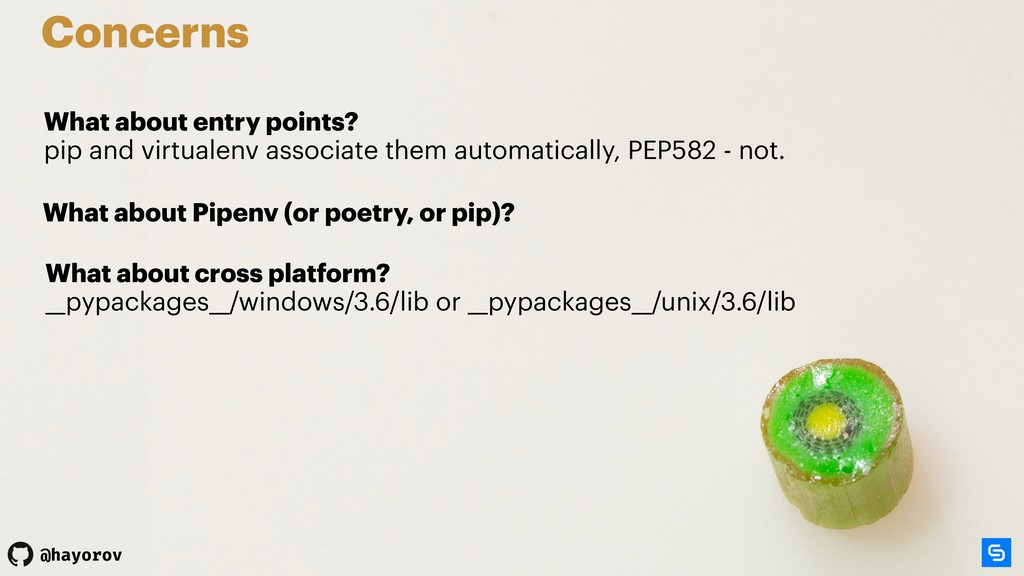 @hayorov Concerns What about entry points? pip...