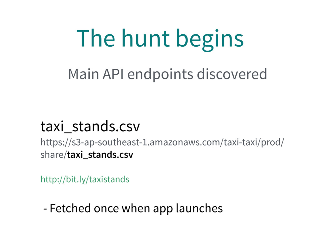 The hunt begins taxi_stands.csv