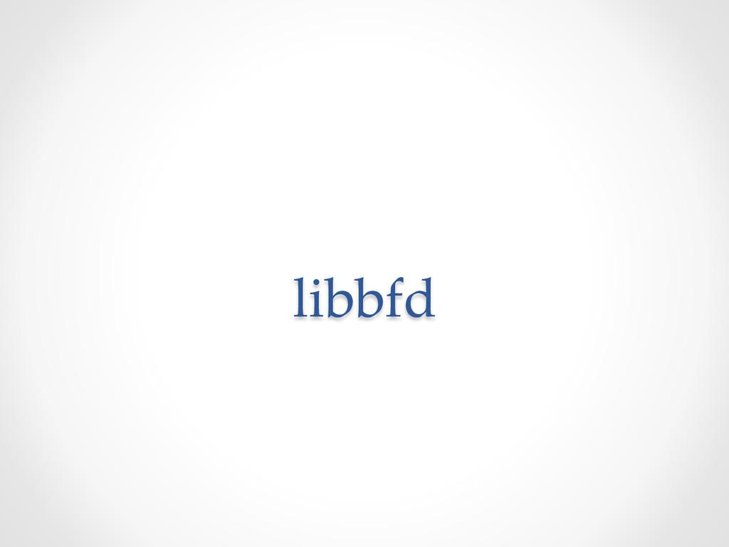 libbfd