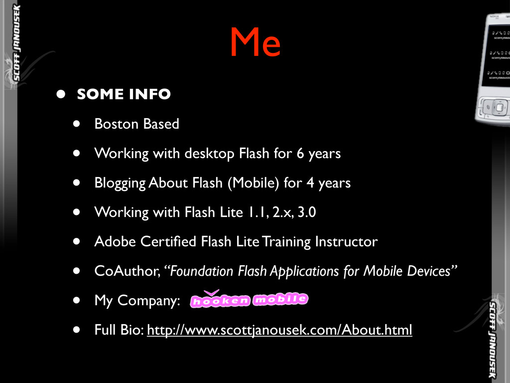 Me • SOME INFO • Boston Based • Working with de...