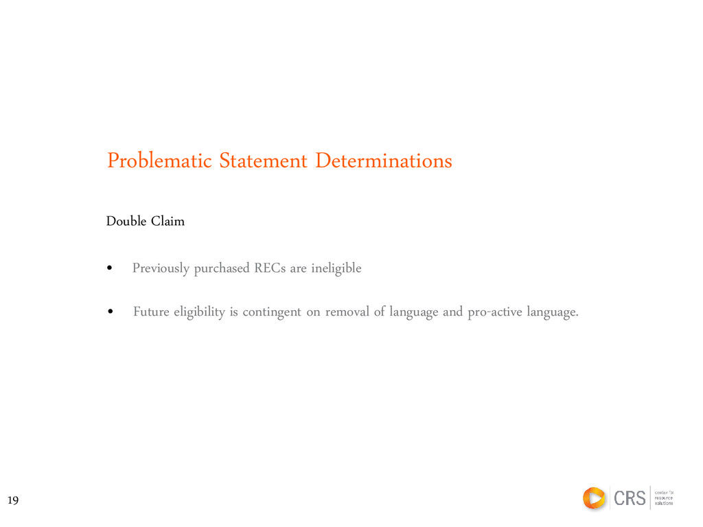 Problematic Statement Determinations Double Cla...