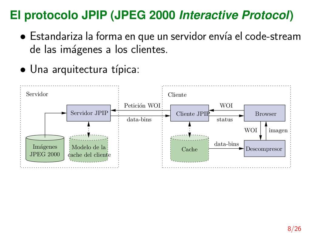 El protocolo JPIP (JPEG 2000 Interactive Protoc...