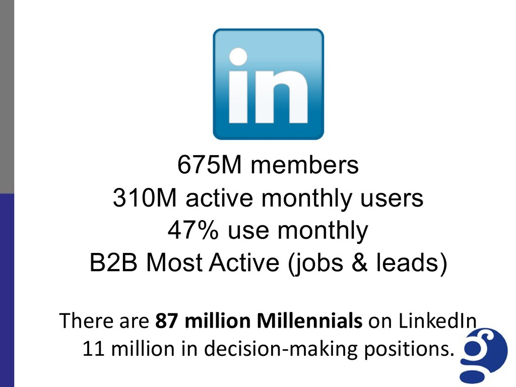 675M members 310M active monthly users 47% use ...