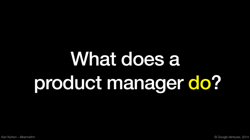 What does a