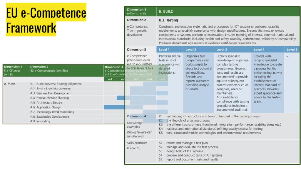 EU e-Competence Framework