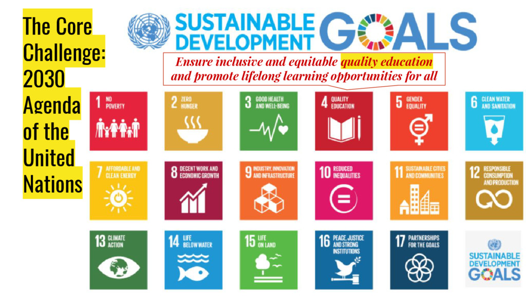 The Core Challenge: 2030 Agenda of the United N...