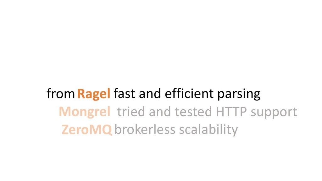 fast and efficient parsing tried and tested HTT...