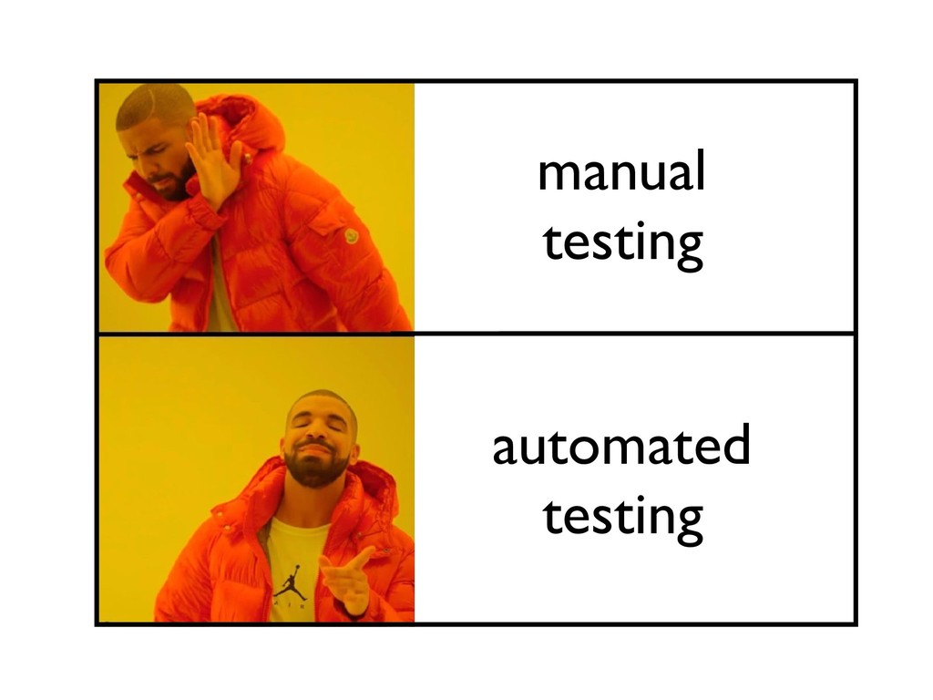 manual testing automated testing