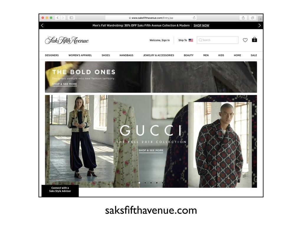 saksfifthavenue.com