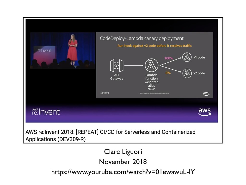 Clare Liguori November 2018 https://www.youtube...