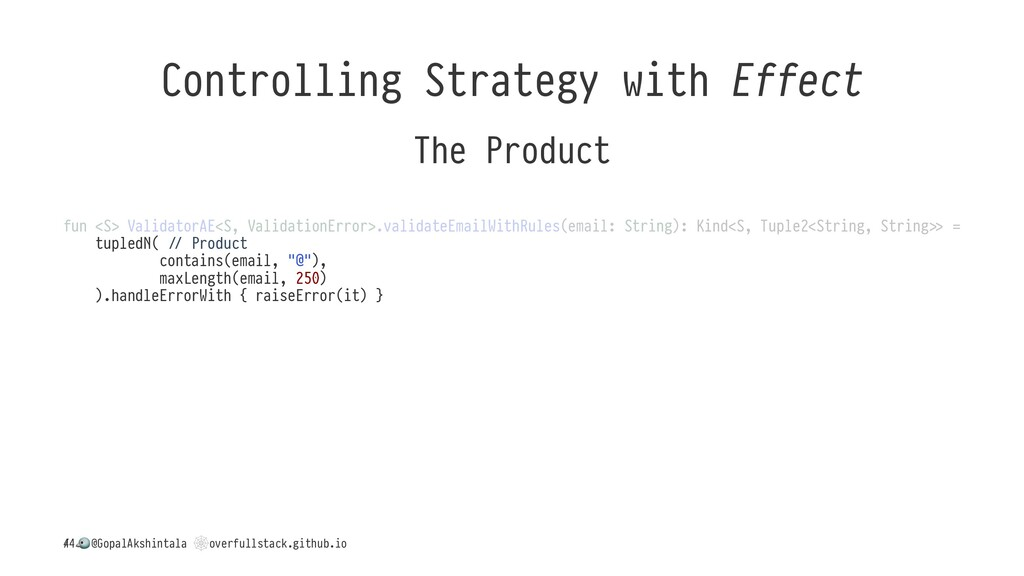 Controlling Strategy with Effect The Product fu...