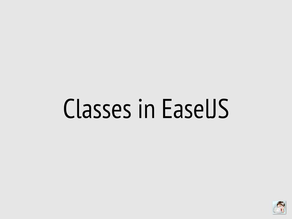 Classes in EaselJS