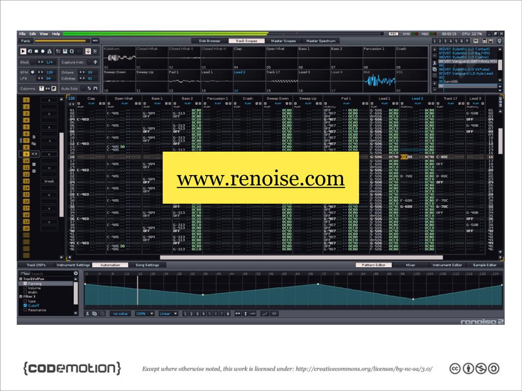www.renoise.com