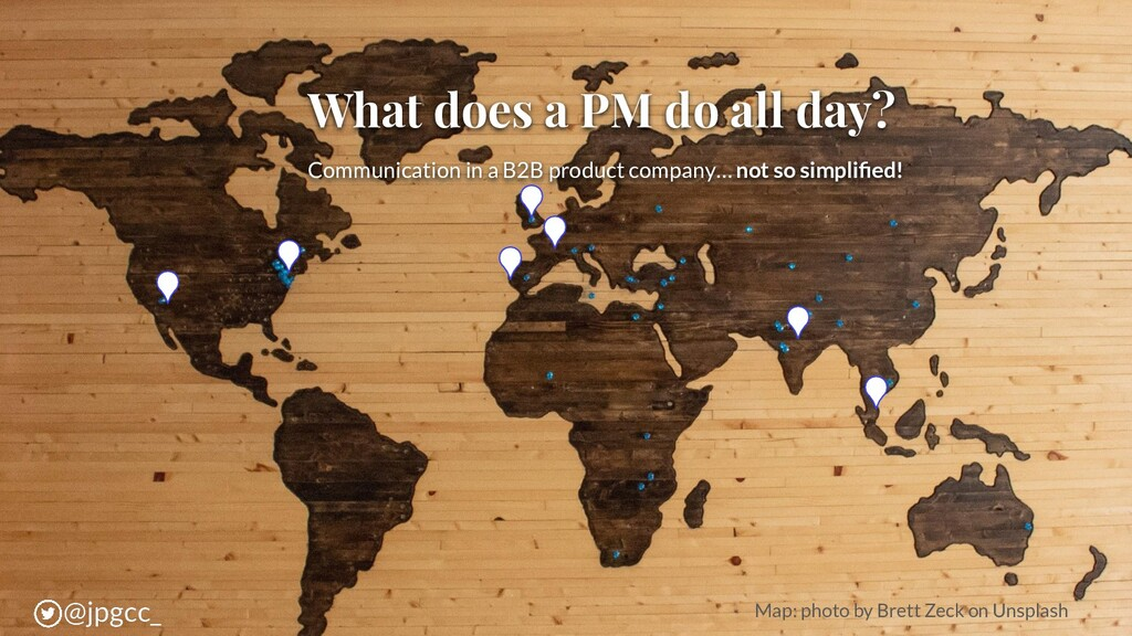 What does a PM do all day? Communication in a B...