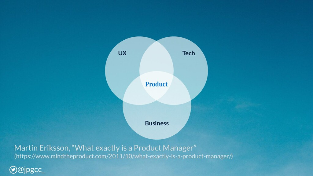 "Martin Eriksson, ""What exactly is a Product Man..."