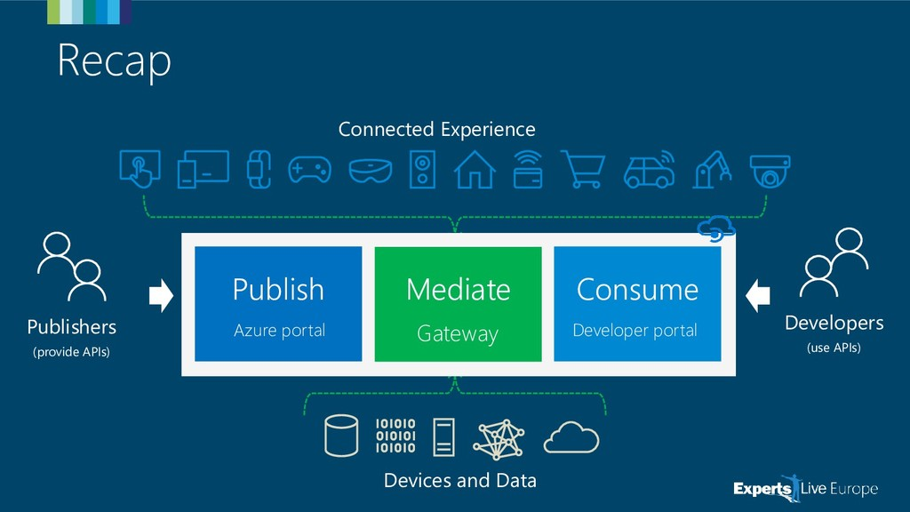 Recap Connected Experience Devices and Data Pub...