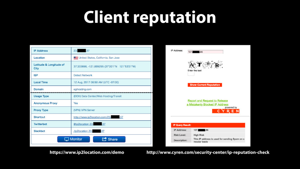 Client reputation http://www.cyren.com/security...