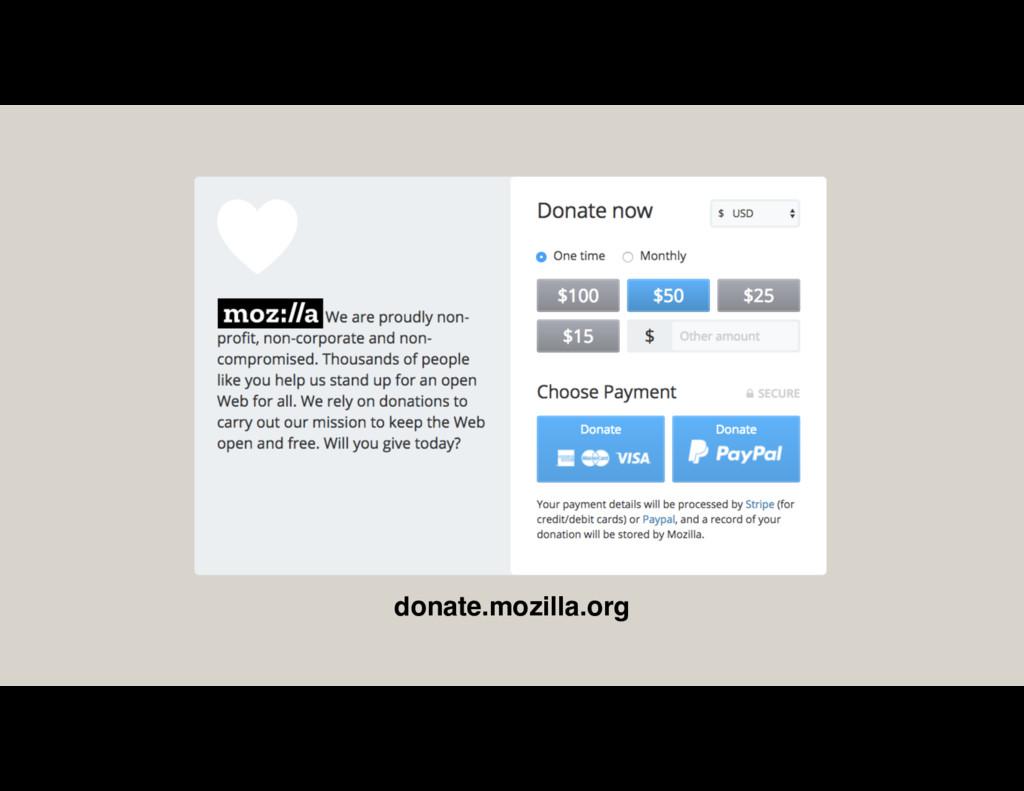 donate.mozilla.org