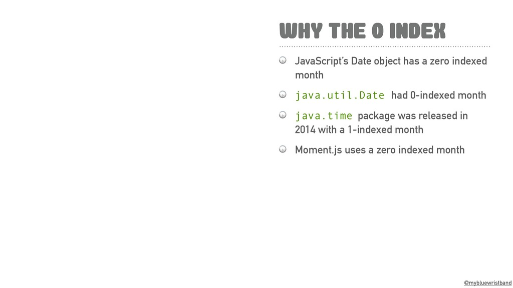 @mybluewristband WHY THE 0 INDEX  JavaScript's ...